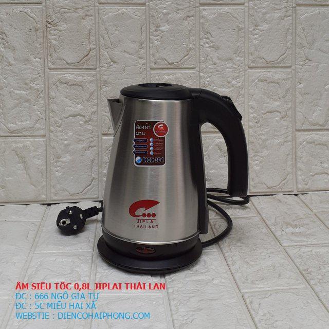 Ấm đun nước siêu tốc JIPLAI EKJ-308 0.8L THÁI LAN