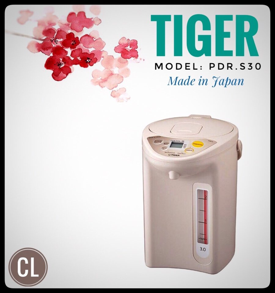 Bình thủy điện 3L Tiger PDR-S30W