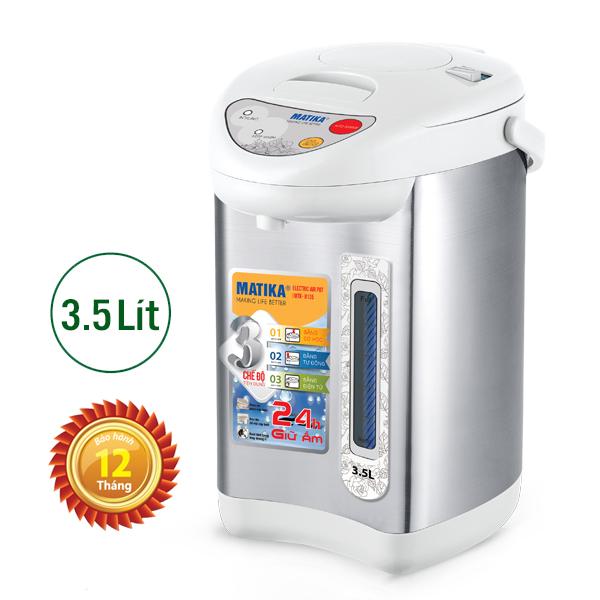 Bình Thủy Điện Matika MTK-8135 (3.5 lít)