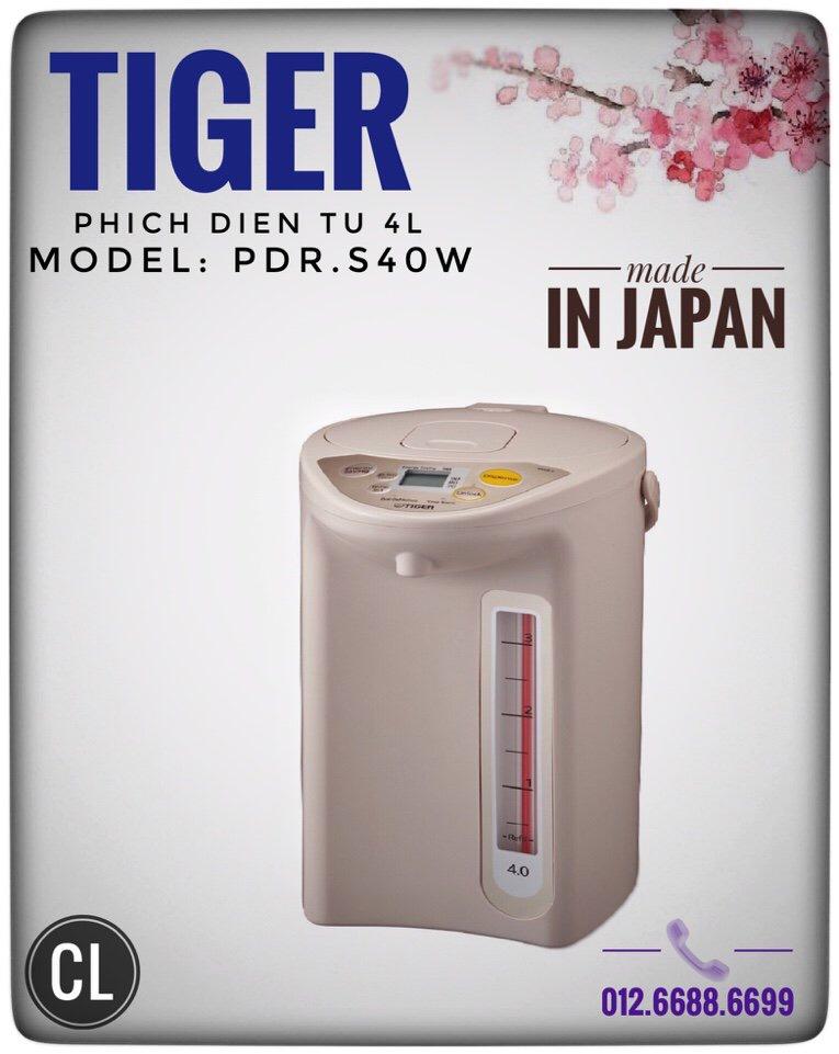 Phích điện 4l Tiger PDR-S40