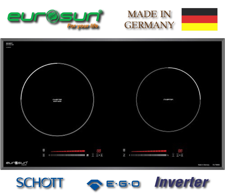 Bếp từ Eurosun EU-T889G Tặng Máy hút mùi 5050k
