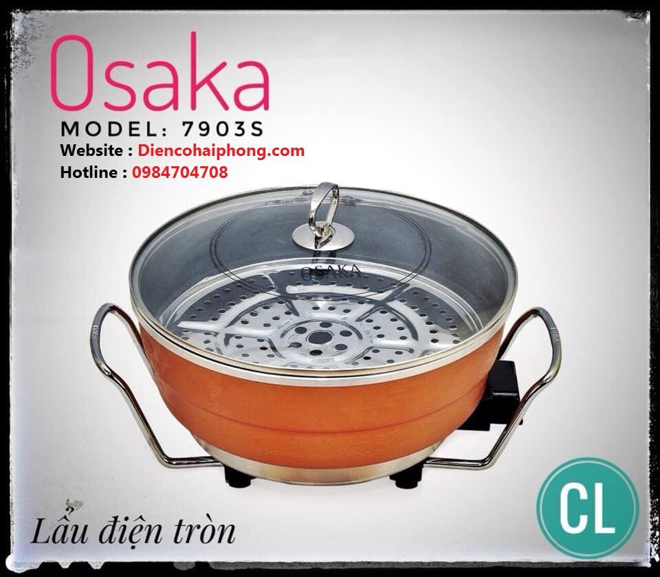Chảo điện đa năng OSAKA 7903S đế inox LOẠI 1