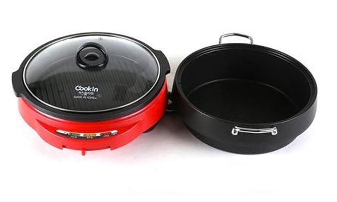 Lẩu và nướng điện Cookin KEP-105