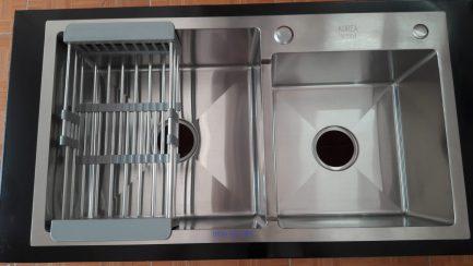 Chậu rửa Handmade Korea SUS304 8245