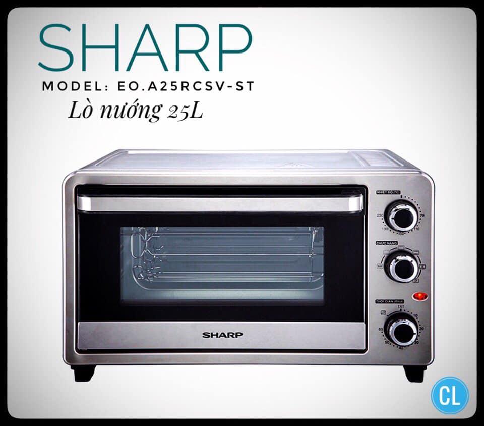 Lò Nướng Sharp EO-A25RCSV-ST (25L)