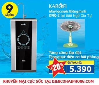 Máy lọc nước thông minh iRO 2.0 9 cấp lọc (K9IQ-2A)