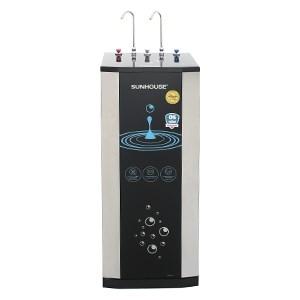 Máy lọc nước RO nóng lạnh Sunhouse 10 lõi tặng bộ bát