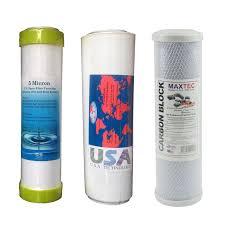 Bộ 3 lõi lọc nước 1,2,3 máy lọc nước RO usa