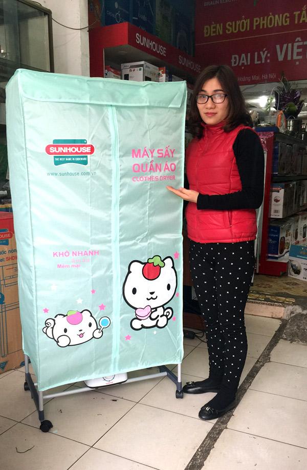 Máy sấy quần áo SUNHOUSE SHD2702 ( khuyến mại )