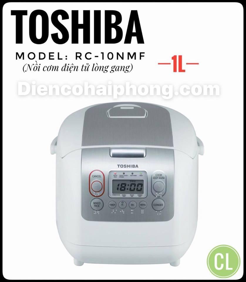 Nồi cơm điện Toshiba RC-10NMF 1 lít