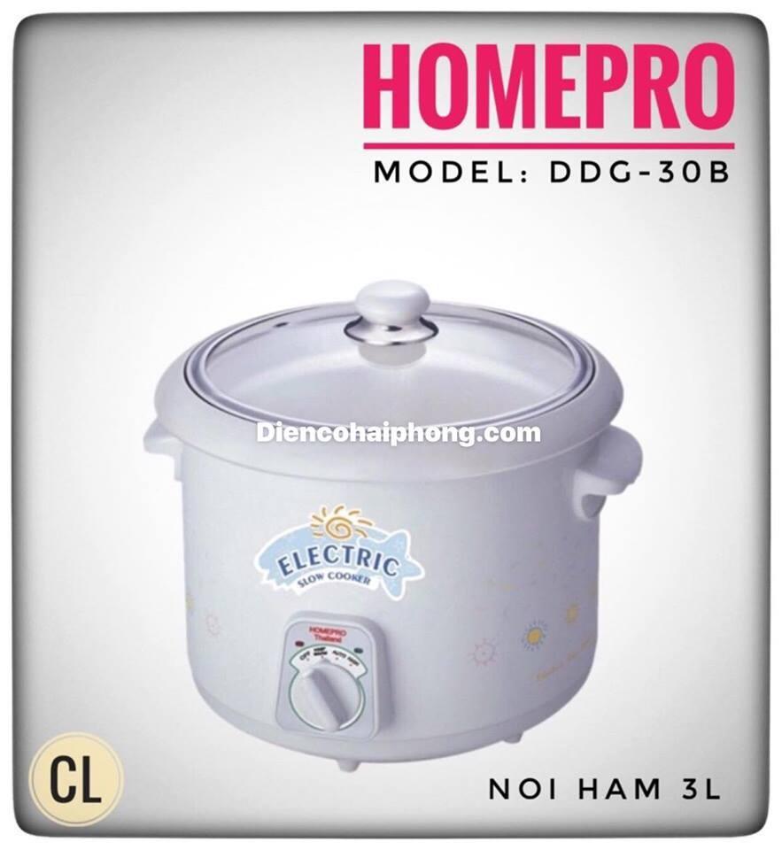 Nồi nấu cháo kho cá Homepro ThaiLand DDG-30B