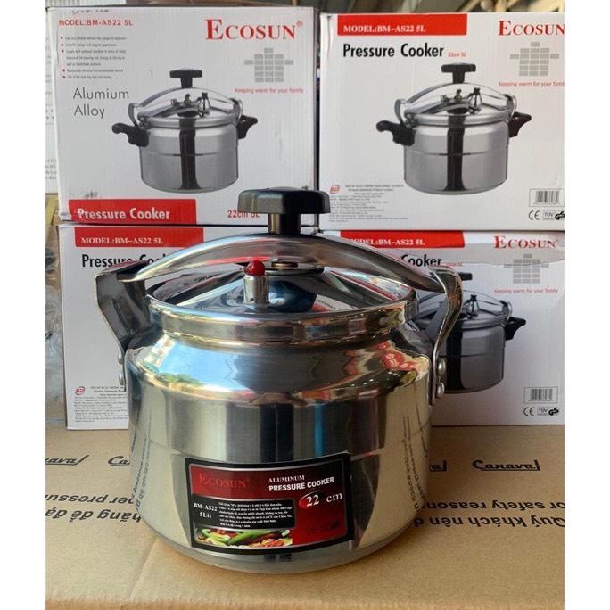Nồi áp suất inox cao cấp Royalty 22cm (5 l ) Hoang Gia nấu đc các loại bếp