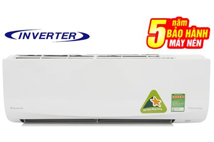 Máy lạnh Daikin Inverter 1.5 HP ATKC35UAVMV 11900btu