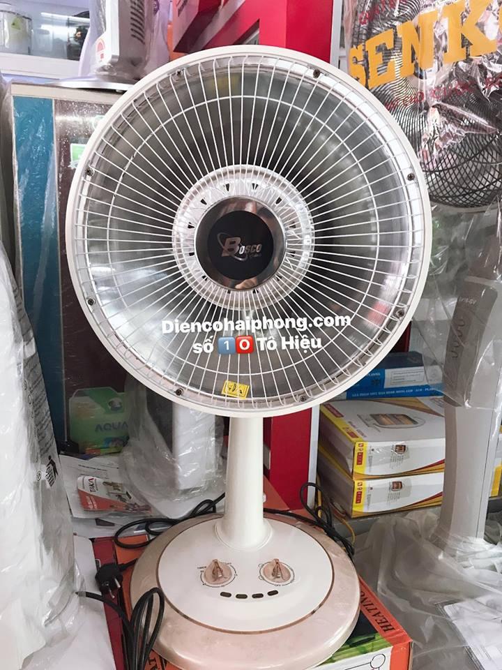 Quạt sưởi nón Bosco Việt nam