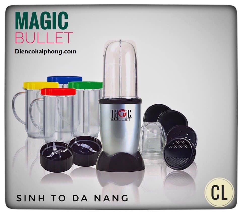 Máy xay ép đa năng Magic Bullet 21 chi tiết , Bh 6 tháng
