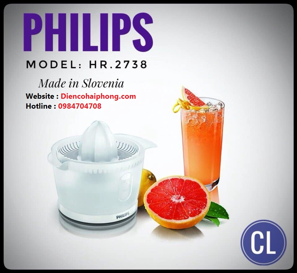 Máy vắt cam Philips HR2738