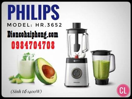 Máy Xay Sinh Tố Philips HR3652 ( 1400W )