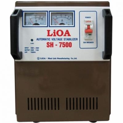 Ổn áp LIOA 1P SH-7.5KVA - SH-7500