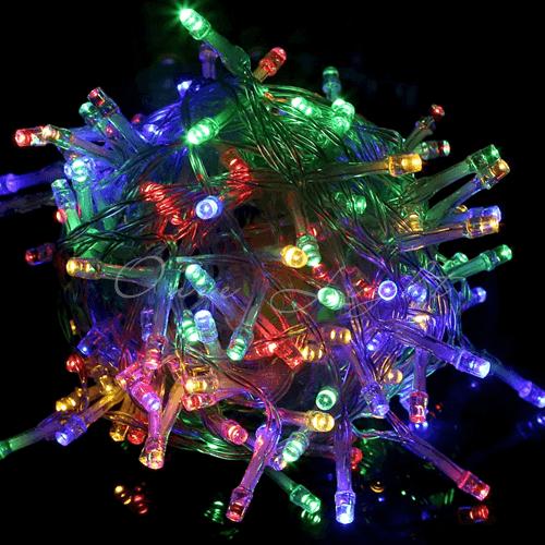 Combo 10 bộ đèn nháy LED nhấp nháy nhiều màu